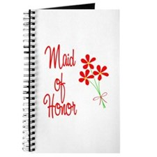 Bouquet Maid of Honor Journal