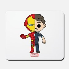 Iron Man Half-and-Half Mousepad