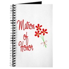 Bouquet Matron of Honor Journal