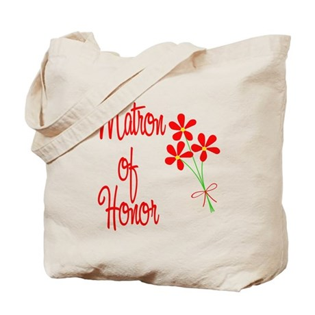 Bouquet Matron of Honor Tote Bag