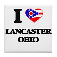 I love Lancaster Ohio Tile Coaster