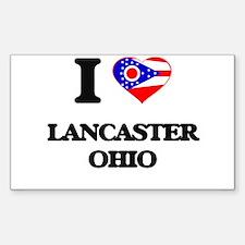 I love Lancaster Ohio Decal