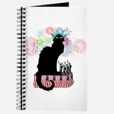 Lady Liberty - Patriotic Le Chat Noir Journal