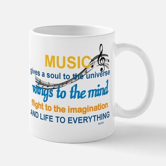 MUSIC GIVES LIFE TO EVERYTHING Mug