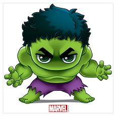 Hulk Stylized Wall Art Poster