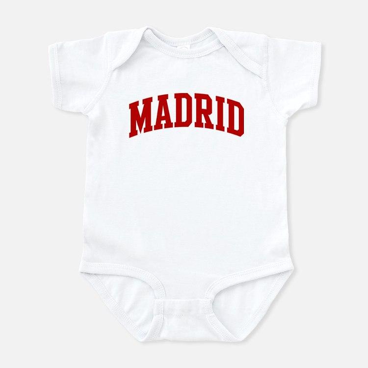 MADRID (red) Infant Bodysuit