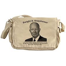 Eisenhower: Intolerance Messenger Bag