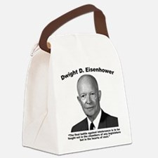 Eisenhower: Intolerance Canvas Lunch Bag