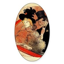 Toulouse-Lautrec, At the Concert Decal