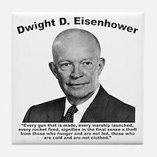 Eisenhower: Theft Tile Coaster