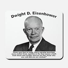 Eisenhower: Theft Mousepad