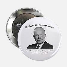 """Eisenhower: Theft 2.25"""" Button"""