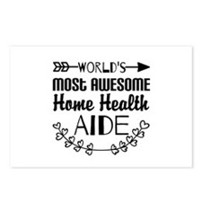 World's Most Awesome Home Postcards (Package of 8)