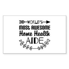 World's Most Awesome Home Heal Decal