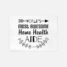World's Most Awesome Home Health Ai 5'x7'Area Rug
