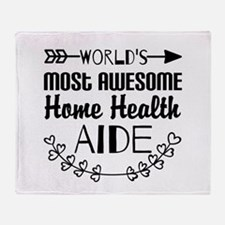 World's Most Awesome Home Health Aid Throw Blanket
