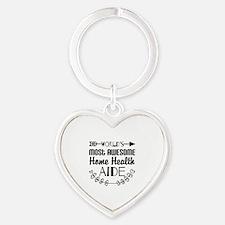 World's Most Awesome Home Health Ai Heart Keychain