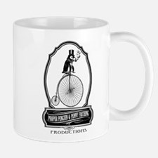 ProperPenguin png black Mugs