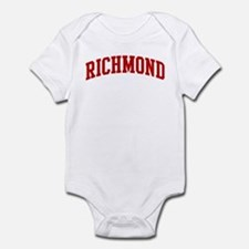 RICHMOND (red) Infant Bodysuit