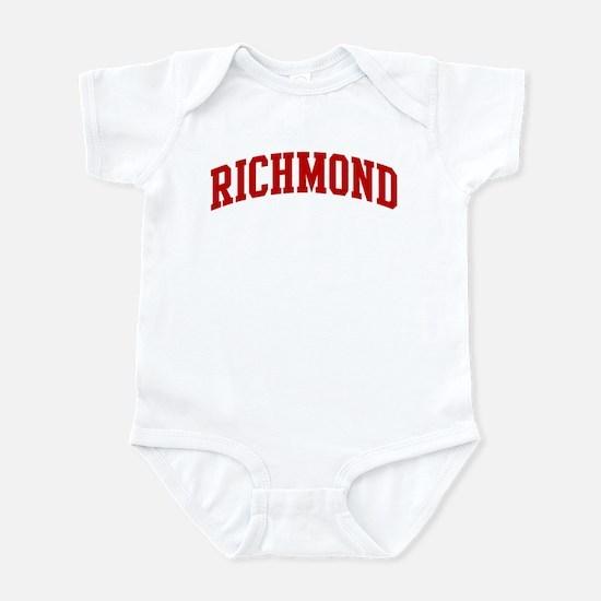 RICHMOND (red) Infant Bodysuit