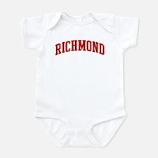 RICHMOND (red) Onesie