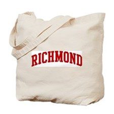 RICHMOND (red) Tote Bag