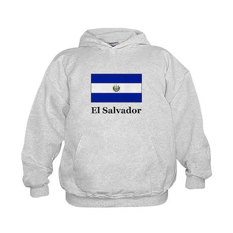 El Salvador Kids Hoodie