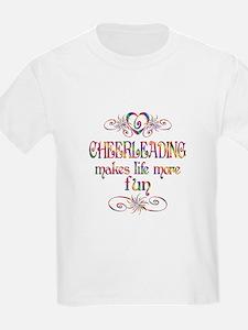 Cheerleading More Fun T-Shirt