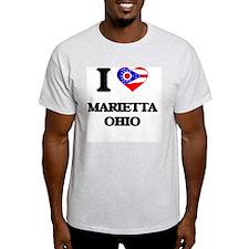 I love Marietta Ohio T-Shirt