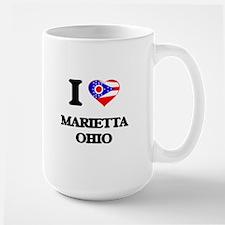 I love Marietta Ohio Mugs