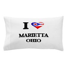 I love Marietta Ohio Pillow Case