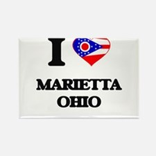 I love Marietta Ohio Magnets