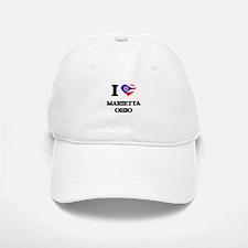 I love Marietta Ohio Baseball Baseball Cap