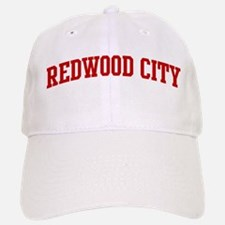 REDWOOD CITY (red) Baseball Baseball Cap