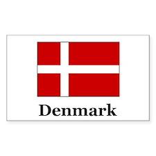 Denmark Rectangle Decal