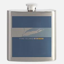 Fire Island - New York. Flask