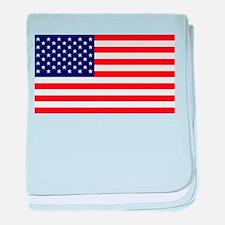 American Flag HQ baby blanket