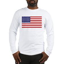 American Flag HQ Long Sleeve T-Shirt