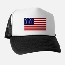 American Flag HQ Trucker Hat