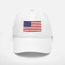 American Flag HQ Baseball Baseball Cap