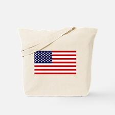 American Flag HQ Tote Bag