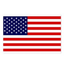 American Flag HQ Postcards (Package of 8)