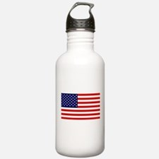 American Flag HQ Water Bottle
