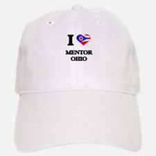 I love Mentor Ohio Baseball Baseball Cap
