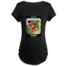 Vintage Radish Seed Packet Maternity T-Shirt
