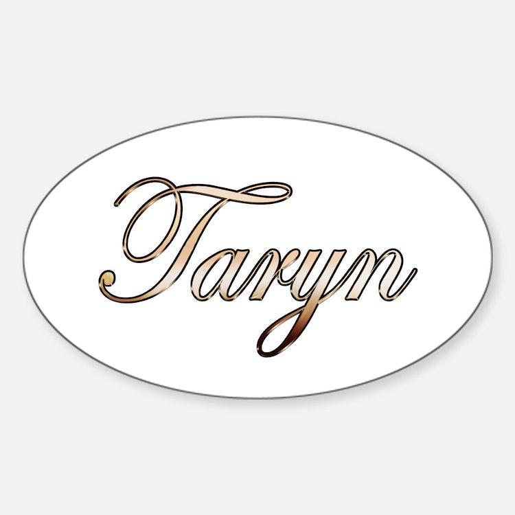 Gold Taryn Decal