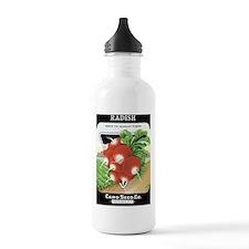Vintage Radish Seed Pa Water Bottle