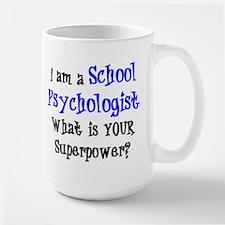 school psychologist Large Mug