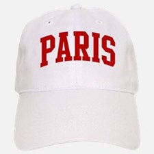 PARIS (red) Baseball Baseball Cap