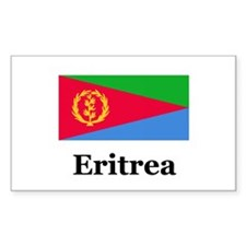 Eritrea Rectangle Decal